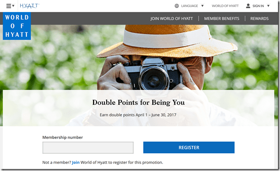 World of Hyatt 2x points Apr1-Jun30