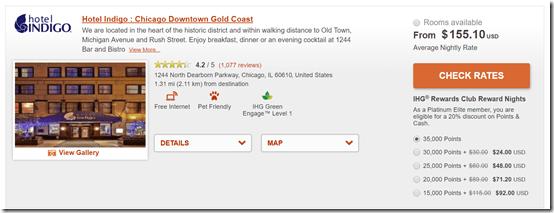 Hotel Indigo Chicago Goldcoast