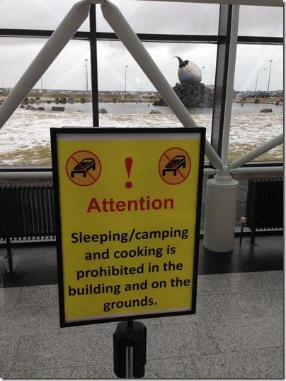 KEF no camping