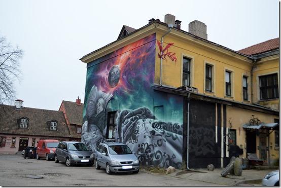 Klaipeda mural (2)