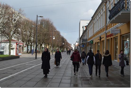 Laisvės alėja Liberty Boulevard Kaunas