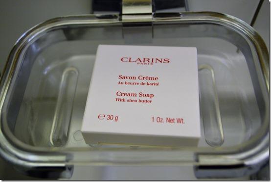 Ramada Clarins soap