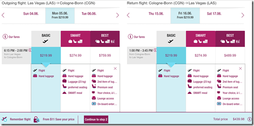 LAS-CGN $440 Jun5-16 Eurowings