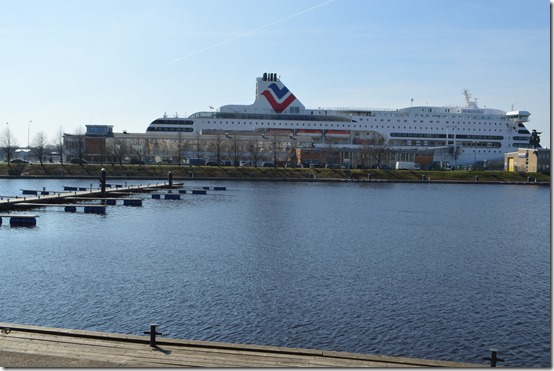 Riga cruise ship