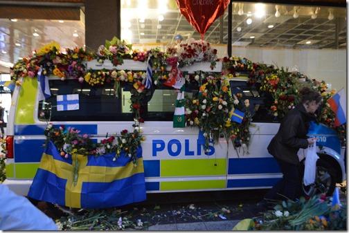 Stockholm Polis van