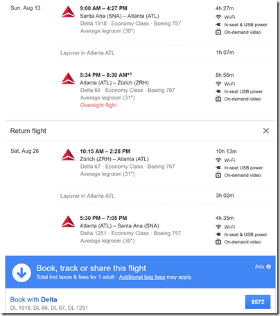 SNA-ZRH $572 Aug13-26 DL