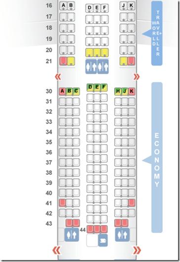Seatguru Seat Map Philippine Airlines Airbus A340 300 343 8