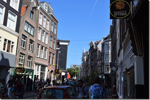 Amsterdam beer, bud and burger joints