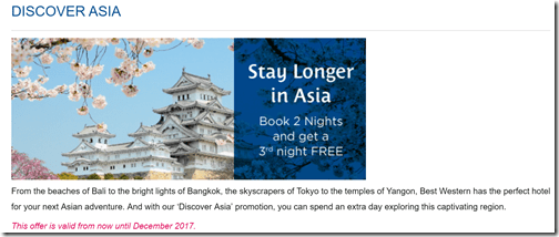 Best Western Discover Asia