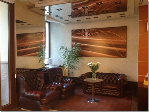 Clarion Prague City lobby-2