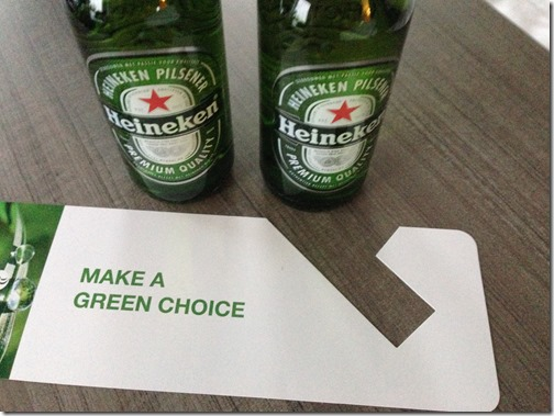 Heineken green choice