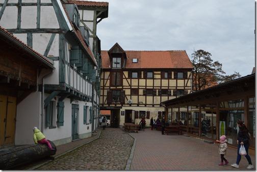 Klaipeda Old Town buildings