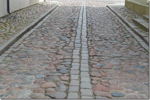 Klaipeda Old Town cobbles