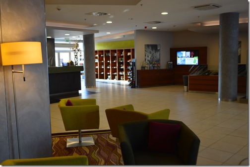 Marriott Plzen lobby