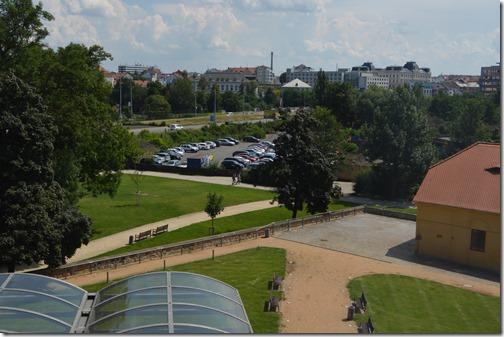 Marriott Plzen view