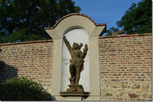 Vysehrad statue