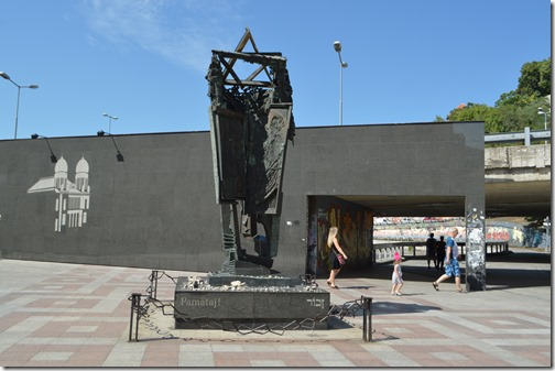 BTS Jewish memorial