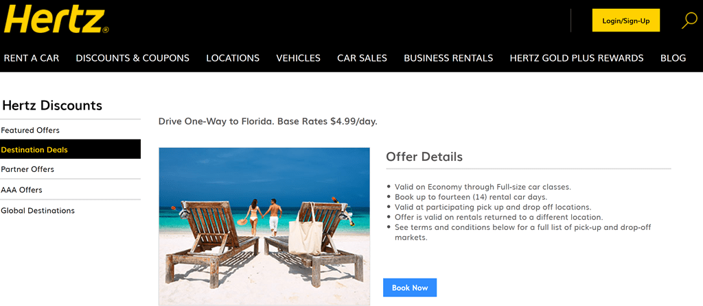 Rochester Airport Enterprise Car Rental