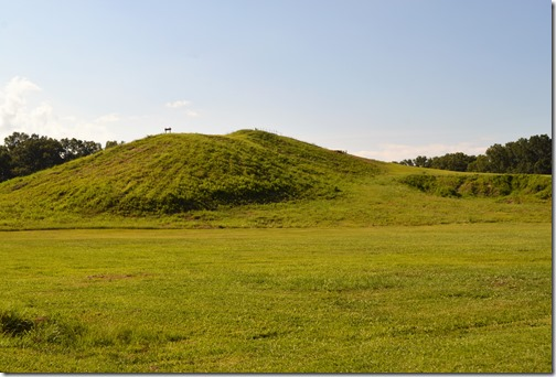 Poverty Point National Monument mound