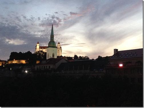 Rad Blu dusk view