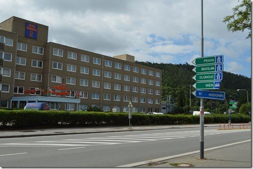 brno freeway entrance