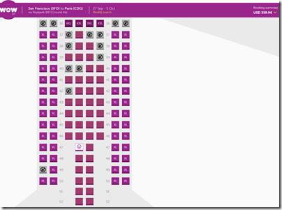 WOW seats