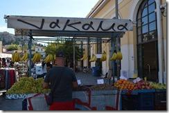 Athens fruit vendor