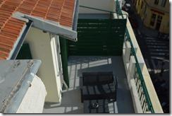 Days Inn 5th floor room patio