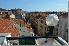 Days Inn rooftop view
