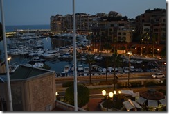 Fontvieille harbor dining