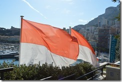Monaco flags