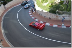 Monaco grand prix corner