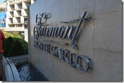 Monte Carlo Fairmont sign