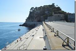 Pier view Le Rocher