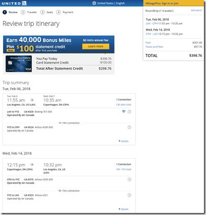LAX-CPH $399 UA-AC Feb6-14