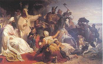 Julius Kockert's painting of