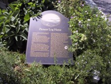 Pioneer Cabin Plaque