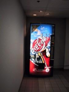 Olympic Coke Machine