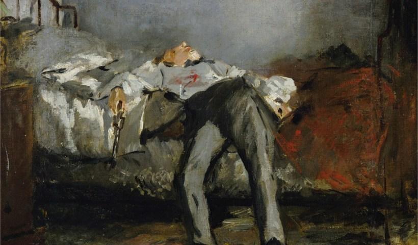 E. Manet, Le suicidé, 1877-1881