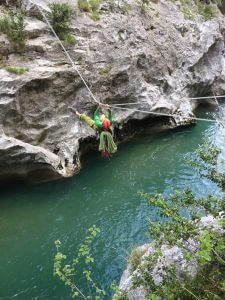 parcours aventures tyrolienne