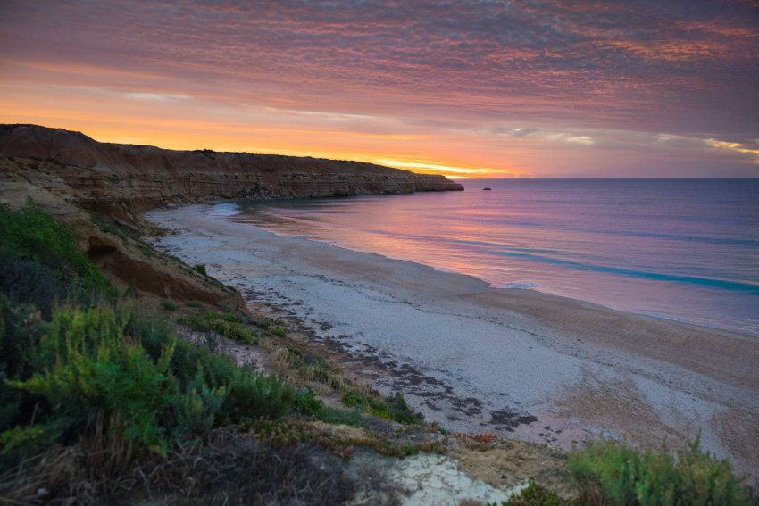 Nudists love the quiet southern stretch of Maslin Beach, one of Australia's best nude beaches
