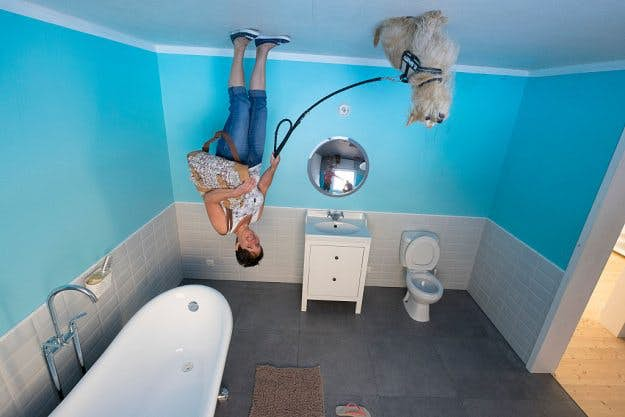 Road Trippers Are Taking Incredible Pictures In Germany S Upside Down House Lonely Planet