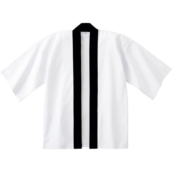 イベントハッピ用F(ホワイト)・黒帯付き商品画像