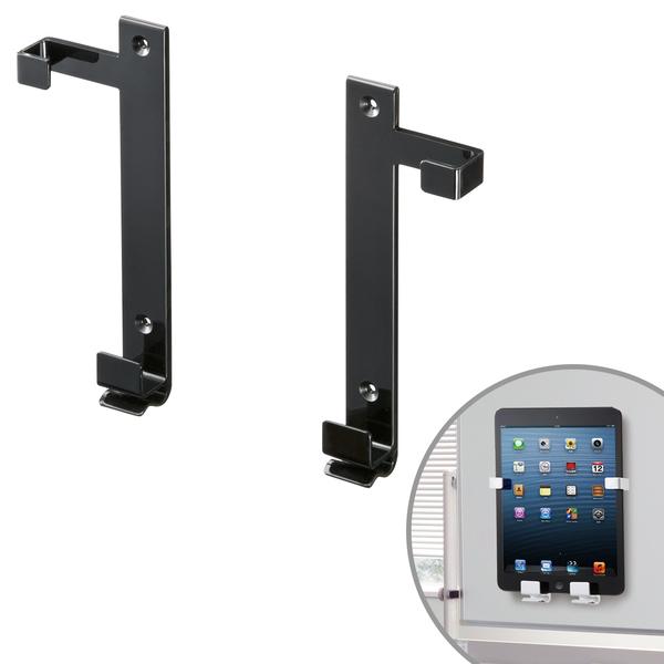 iPad・タブレットホルダー(7~11インチ・厚さ13mmまで・ブラック)商品画像