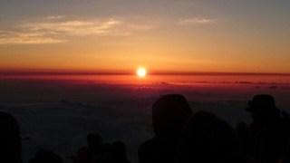 富士山山頂
