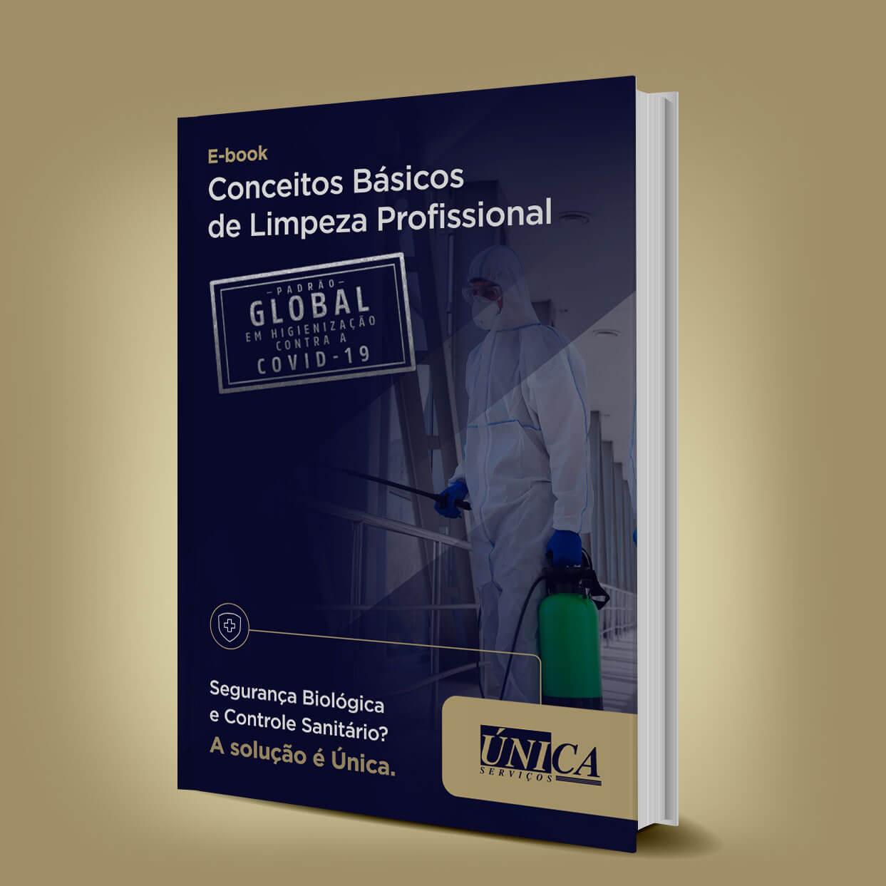 E-book Conceitos Básicos de Limpeza Profissional