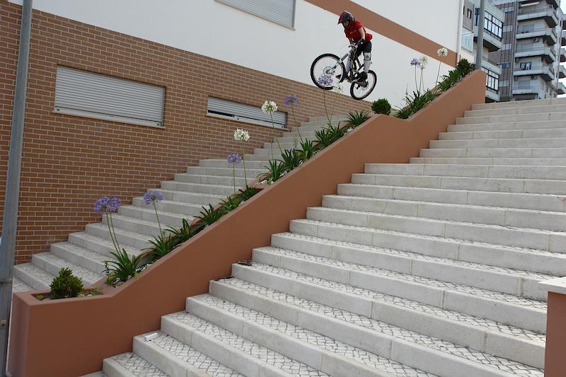 stair gap do hospital / foto by Tina