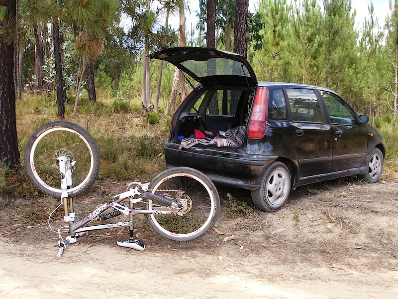 Bike and Car / photo by Tina