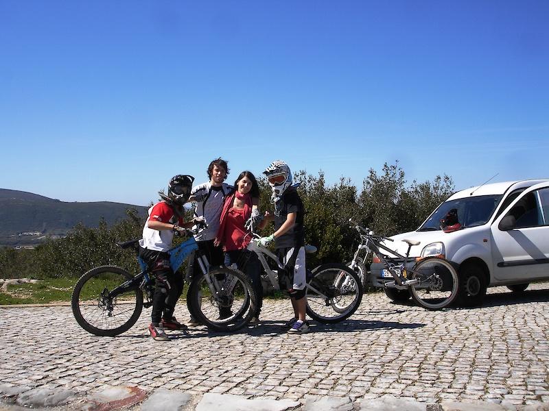 Ruben, Eu, Tina e Ventura
