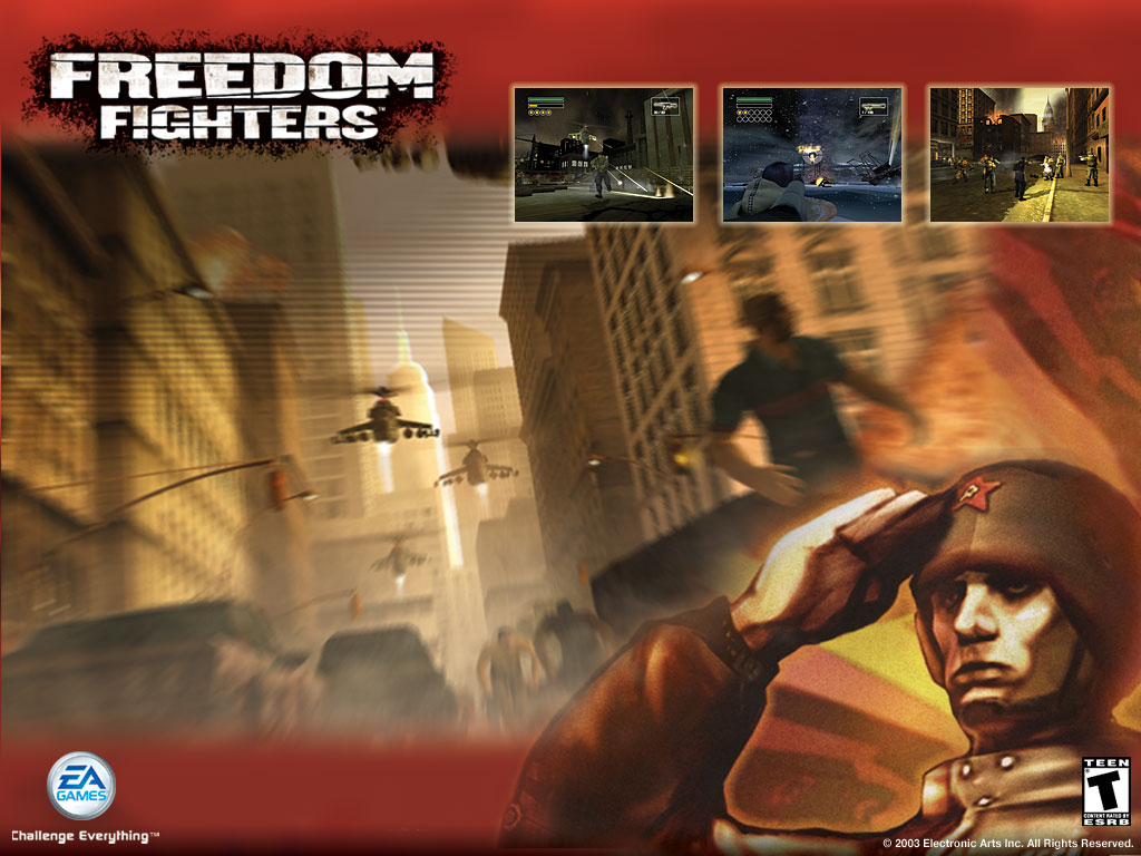 Freedom Fighters Part 15 Intermission Concept Art